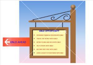 GNLD SIGN POST