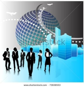 stock-vector-business-people-team-in-the-city-vector-background-73938553